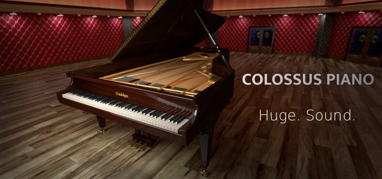 Crudebyte • Colossus Piano :::